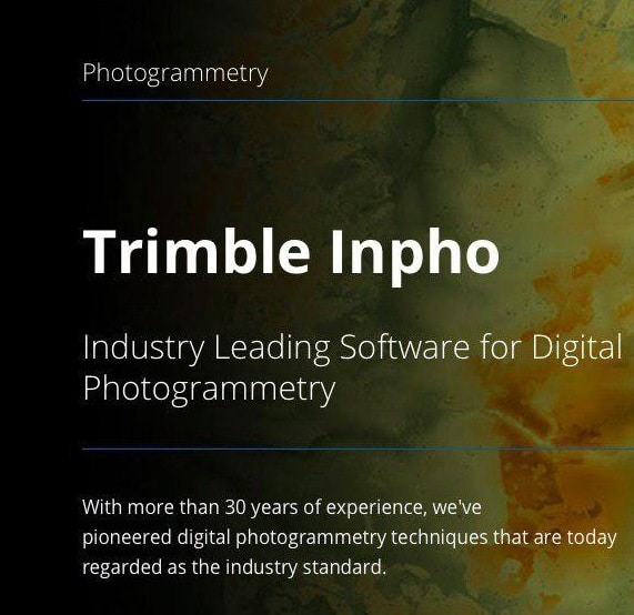 Trimble Inpho Application Master